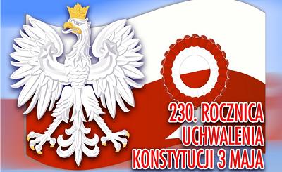 230. Rocznica Uchwalenia Konstytucji 3 Maja – wirtualny apel